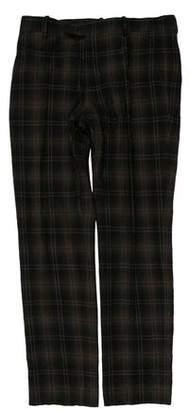 Marni Flannel Flat Front Pants