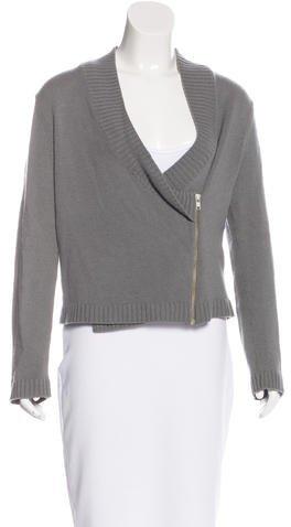 Helmut LangHelmut Lang Asymmetrical Cashmere Sweater