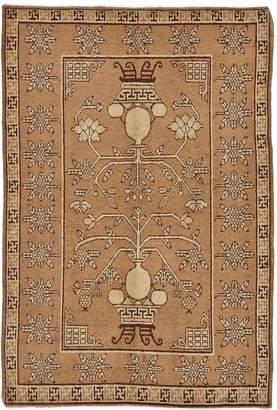 "ABC Home Vintage Khotan Wool Rug - 4'4""x7'3"""