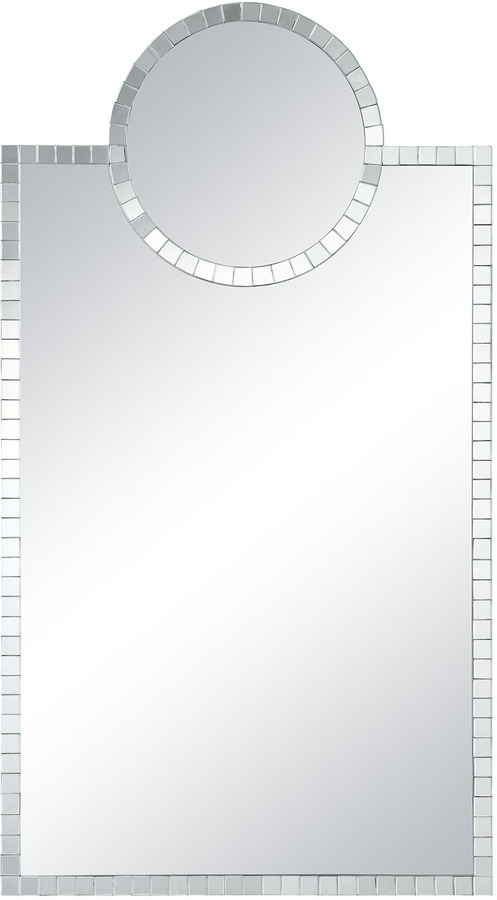 Horchow Circle-Topped Mirror