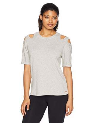 Nanette Lepore Play Women's Double Trouble Cut Out TOP