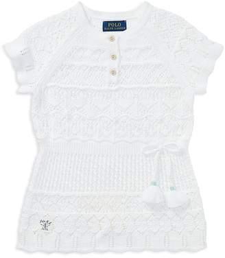 Polo Ralph Lauren Girls' Crochet Tunic - Little Kid