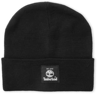 Timberland Solid Logo Cuff Beanie