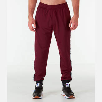 Champion Men's Side Tape Track Jogger Pants