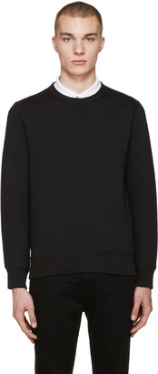 Burberry Black Colesden Pullover $295 thestylecure.com