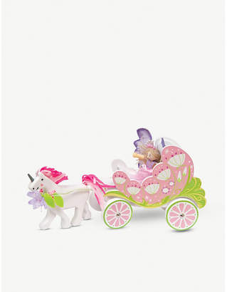 Le Toy Van Fairybelle carriage & unicorn playset