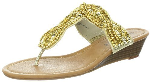 Rampage Women's Caiden Wedge Sandal