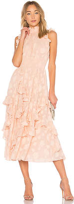 Rebecca Taylor Ruffle Gown