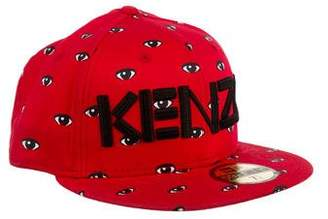 Pre-Owned at TheRealReal · Kenzo Eye Print Logo Fitted Hat ac6e09c382f