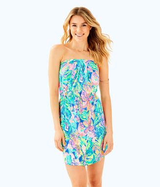 Lilly Pulitzer Windsor Strapless Pull-On Dress