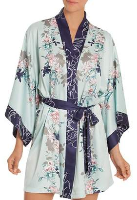 Jonquil In Bloom by Floral Kimono Robe