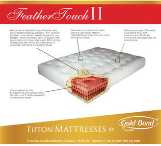 "Gold Bond Feather Touch 7"" Futon Mattress"