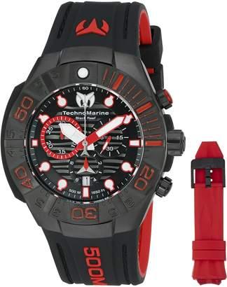 Technomarine Men's ' Reef' Swiss Quartz Stainless Steel Casual Watch (Model: TM-515018)