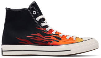 Converse Black Chuck 70 Archive Print High Sneakers