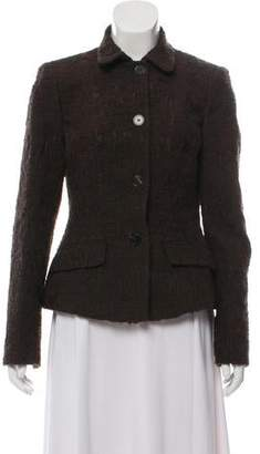 Blumarine Nubby Tweed Jacket
