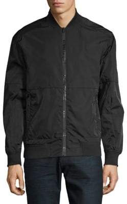 Kenneth Cole New York Zip Bomber Jacket