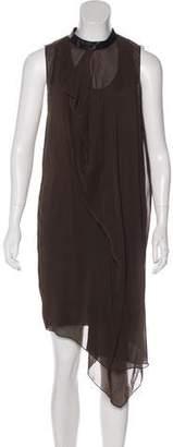 3.1 Phillip Lim Silk Sleeveless Midi Dress