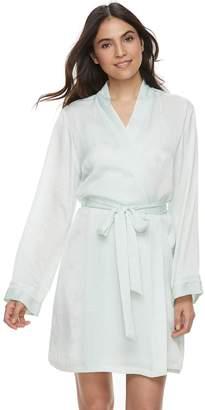 Apt. 9 Women's Satin Wrap Robe