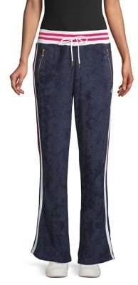 Champion Terry Cloth Warm-Up Slim Flare Pants
