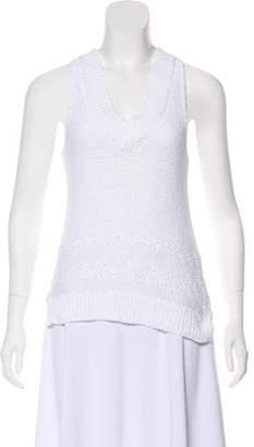 Rag & Bone High-Low Sleeveless Sweater