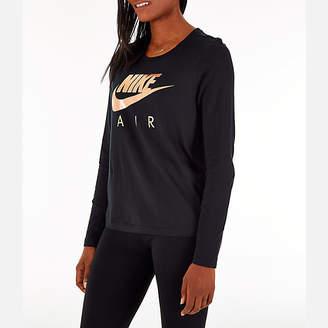 Nike Women's Sportswear Air Long-Sleeve T-Shirt