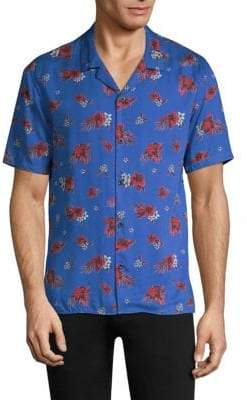 The Kooples Hawaiian Button-Down Shirt