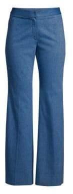 Derek Lam Women's Flare Leg Trousers - Light Indigo - Size 38 (2)