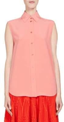 Givenchy Silk Sleeveless Blouse