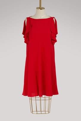 RED Valentino Sleeveless dress with ruffles