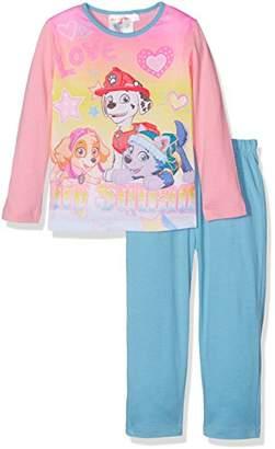 Nickelodeon Girl's Paw Patrol Love Play Pyjama Set,(Manufacturer Size: 6 Years)