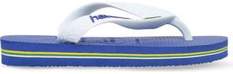 Havaianas Brasil logo rubber flip flops 3-7 years
