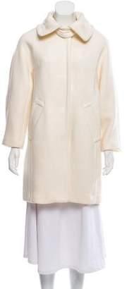 Milly Wool Knee-Length Coat w/ Tags