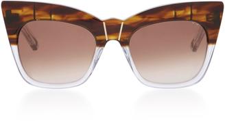 Pared Eyewear Acetate Cate-Eye Sunglasses