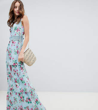 Miss Selfridge Tiered Floral and Ruffle Dress
