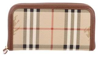 Burberry Haymarker Check Wallet