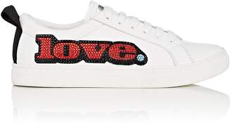 Marc Jacobs Women's Empire Embellished Leather Sneakers