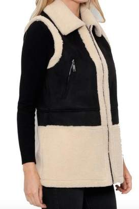 Love Token Donatella Shearling Vest