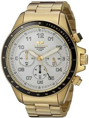 Vestal 'ZR2' Quartz Stainless Steel Casual Watch