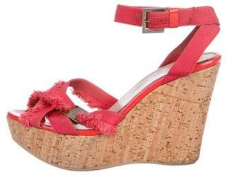 Salvatore Ferragamo Ankle-Strap Wedge Sandals