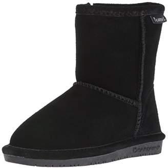 BearPaw Girls' Emma Toddler Zipper Snow Boots, (Black Ii 011)