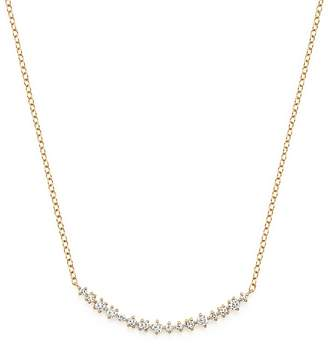 Bloomingdale's Diamond Scatter Bar Necklace in 14K Yellow Gold, .30 ct. t.w. - 100% Exclusive
