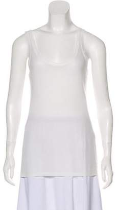 Ann Demeulemeester Scoop Neck Sleeveless Top