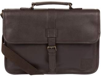 Bear Hardwear - Dark Brown 'Alder' Leather Briefcase