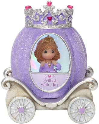 Precious Moments Joy Princess Carriage Light-Up Girl Figurine