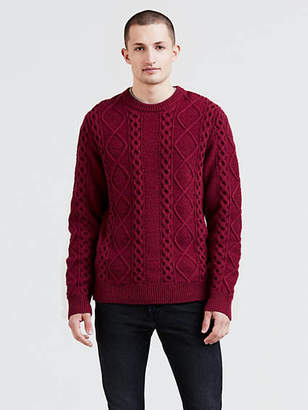 Levi's Fisherman Cable Crewneck Sweater
