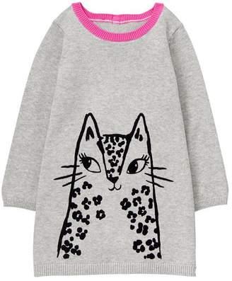 Gymboree Leopard Sweater Dress