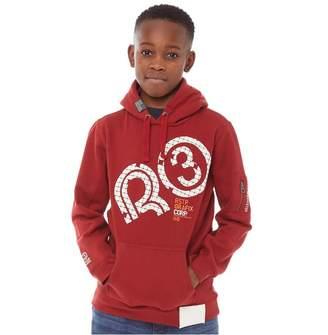 66de81a644db2e Dahlia Ripstop Junior Boys Memphis Hoodie Red