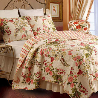 Greenland HOME FASHIONS Home Fashions Butterflies Quilt Set