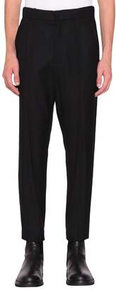 Ann Demeulemeester Black Wool Woolvi Trousers