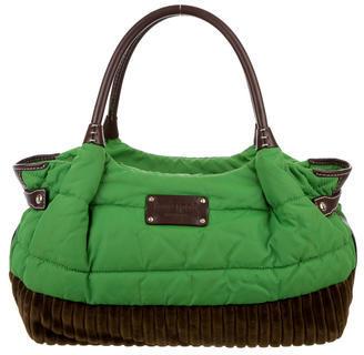 Kate SpadeKate Spade New York Quilted Nylon & Corduroy Bag